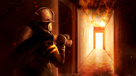 firefighter commission by ShinoShoe26