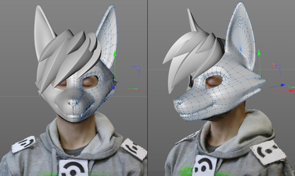 3D Scan for a mask by zorryn