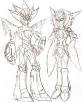Medabots OC: Growned up by NeonNeoz