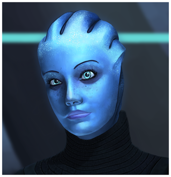 Liara T'soni by coloneljinx