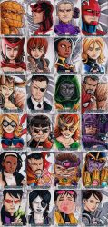 Marvel Beginnings 2 Heroes and Villains by KidNotorious