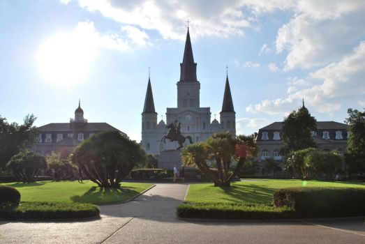 St. Louis Cathedral by Blueasjim