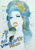R.I.P. Amy Winehouse by karengiraldi
