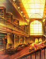 Free!: Iwatobi Library by LuluSeason