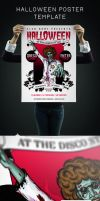 Halloween Poster Template by Itembridge