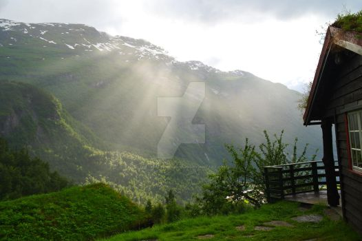 Geiranger by The-girl-in-Mirkwood