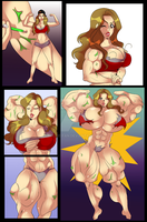 Nikki Bella Growth Sequence by Archie-Fan
