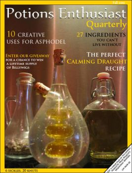 Potions Enthusiast Quarterly by damnitsasha