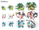 All the evolution lines! by villi-c