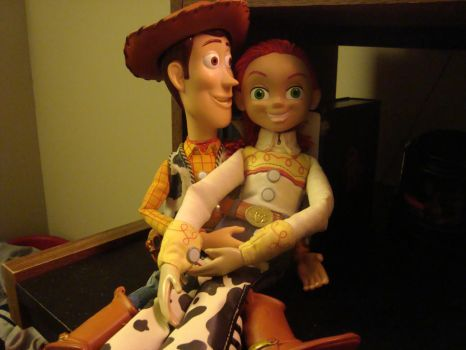 Woody and Jessie by spidyphan2