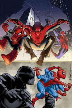 Along came the Spidey's by BroHawk