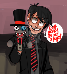 Alan and Black hat by Lain444
