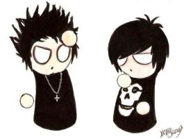 Syn and Zacky by sacrificingsanity