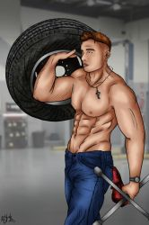 Mr. Mechanic by Ro4le