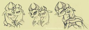 Thorax and Pharynx Sketches by RossmaniteAnzu