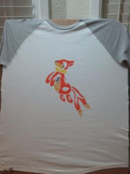 Buizel Tribal Design Shirt by Areohawk