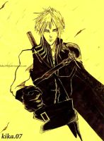 cloud strife by kika1983