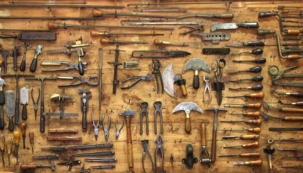 Old Tools by huubkeulers