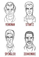 Ghostbusters Portraits by RazorsEdge701