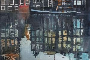 Amsterdam by night by yelou