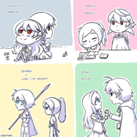 [Fire Emblem] Random FE Exchange Doodles by Rukotaro