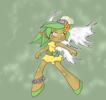 Earthy Fairy blahblah by spittingkitty