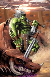 Planet Hulk Colors  by SaviorsSon