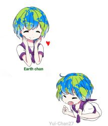 Earth chan  by Yui-Chan27