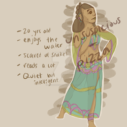 OPEN Colorful Dress OC - PayPal Adopt by Unsuspicious-Pizza