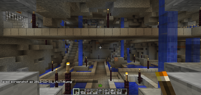 Minecraft: Forever Fortress Central Plaza pic 1 by YourBuddyBill