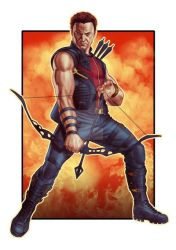 HAWKEYE by thesilvabrothers