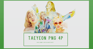 TaeYeon WHY Part4 4P PNG by vul3m3