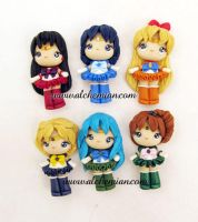 sailor senshi tribute by AlchemianShop