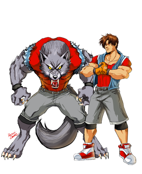 Yugo and His WOLF Beast Mode by SHizukA-Shi