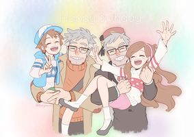 Pines Birthday by Buryooooo