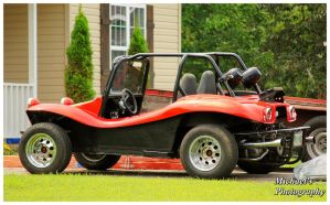 A Red Dune Buggy by TheMan268