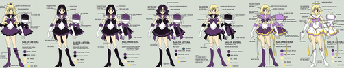 Sailor Astera Reference by SarahsPlushNStuff