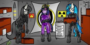 The Weapons Room by HypnoDreamSearcher