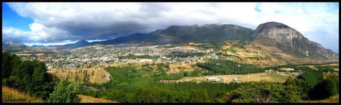 Arcoiris Coyhaique Panorama by Trivisions