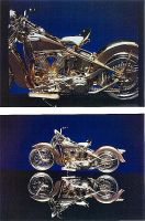 18K Gold 1936 Knucklehead by SaraAnnDiPity