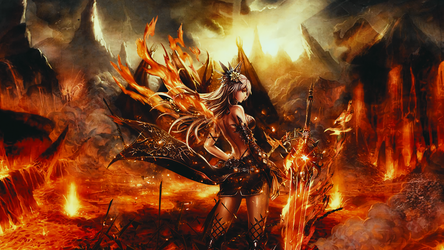 Knight of Hell by galangcp