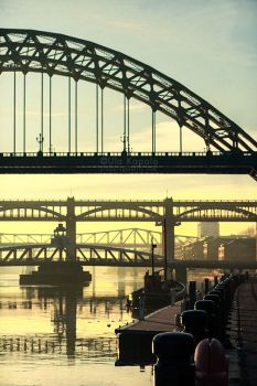 Bridges of Newcastle by ukapala