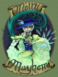 Molly Mayhem by Warlord-of-Noodles