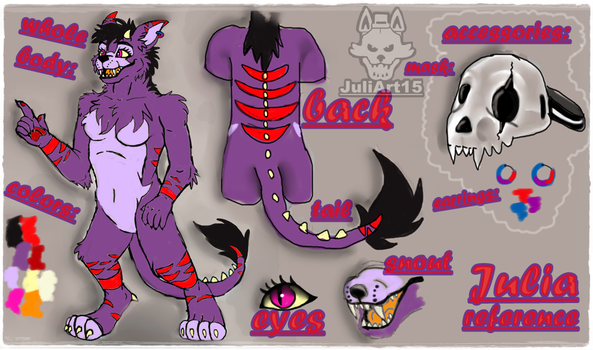 .:Julia:. New Reference by JuliArt15