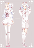 .:Bluemies:. White Opal *closed* by Marritime