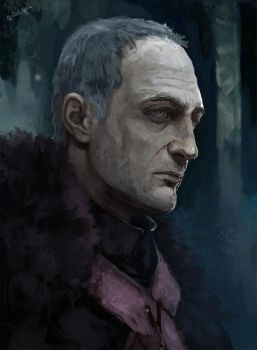 Roose Bolton by GibiLynx