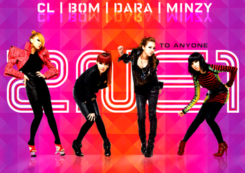 2NE1: To Anyone Wallpaper by Awesmatasticaly-Cool