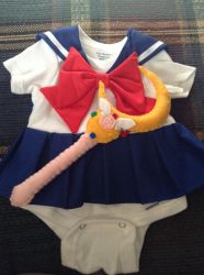 Sailor Moon Onesie by Darkwisher93