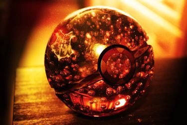 The Gryffindor House Pokeball by wazzy88