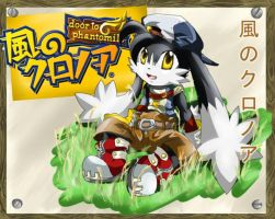 Klonoa: fan costume design XD by Hyrika